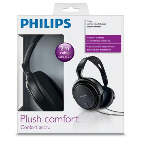 Sluchátka Philips SHP2000 - černá - Philips PHISHP200010 (foto 2)
