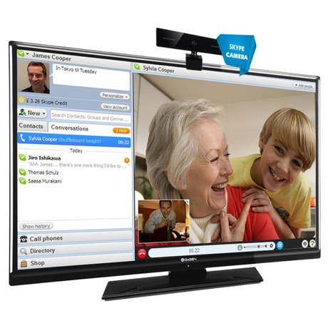 Skype kamera GoGEN SKYPECAM pro SMART TV, 30076009 - GoGEN GOGSKYPECAM (foto 1)