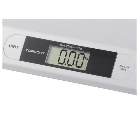Kojenecká váha TOPCOM Digital BabyScale 2000, s rozlišením 10g - Topcom TPC5411519017314 (foto 4)