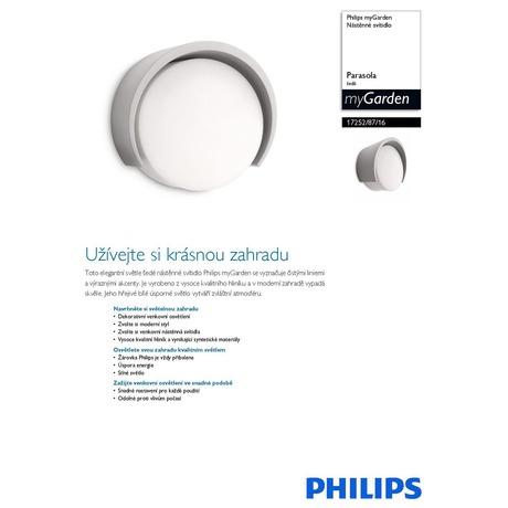 Venkovní svítidlo Philips MyGarden 17252/87/16 - Philips 17252/87/16 (foto 1)