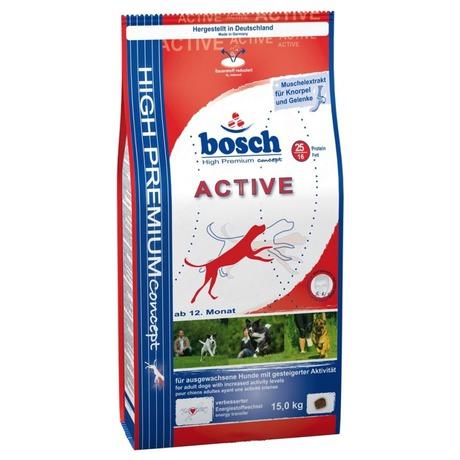 Granule BOSCH Active 15 kg, aktivní, dospělý pes - BOSCH BOH80080 (foto 1)