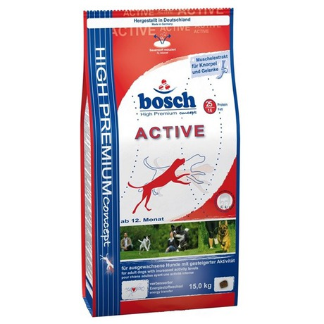 Granule BOSCH Active 15 kg, aktivní, dospělý pes - BOSCH BOH80080 (foto 2)