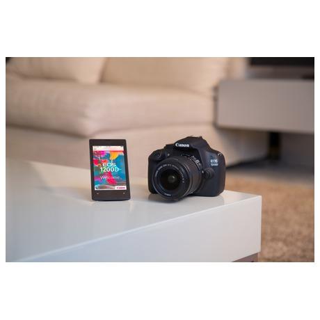 Fotoaparát zrcad. Canon EOS 1200D + 18-55 DC + 8GB pam.karta + brašna, ZDARMA - Canon CANEOS1200D18558GB (foto 5)