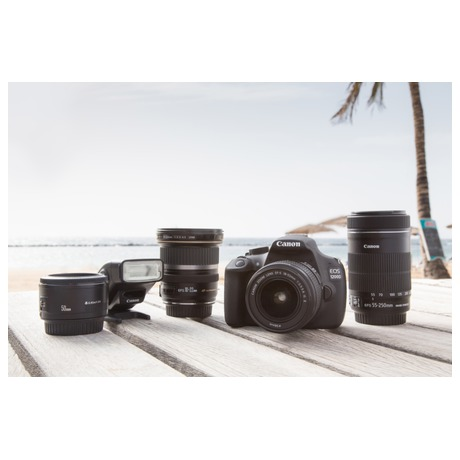 Fotoaparát zrcad. Canon EOS 1200D + 18-55 DC + 8GB pam.karta + brašna, ZDARMA - Canon CANEOS1200D18558GB (foto 22)