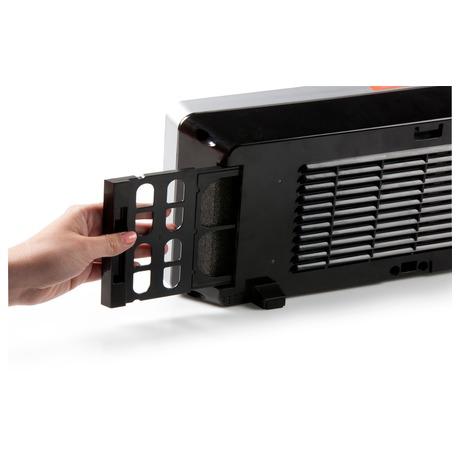 Závěsné keramické topení s ventilátorem -  DOMO DO7341H - Domo DOM-DO7341H (foto 1)