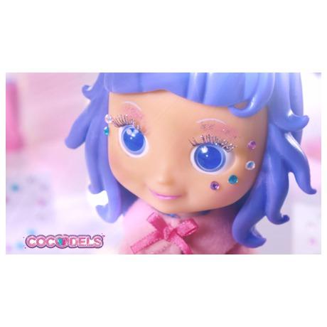 Panenka Cocodels Demi plast 16cm s pokojíčkem + make-up doplňky v krabičce - Teddies TED-00029942 (foto 3)