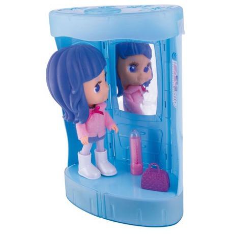 Panenka Cocodels Demi plast 16cm s pokojíčkem + make-up doplňky v krabičce - Teddies TED-00029942 (foto 4)