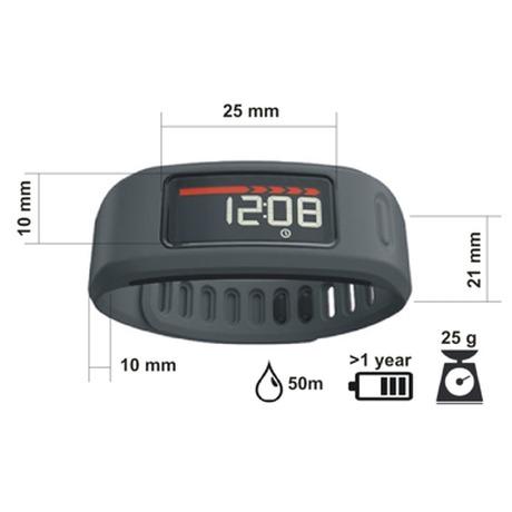 Monitorovací náramek Garmin Vivofit, šedý - Garmin GARVIVOFITS (foto 1)