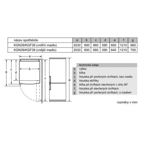 Bosch BOSKGN39VL35 (foto 5)