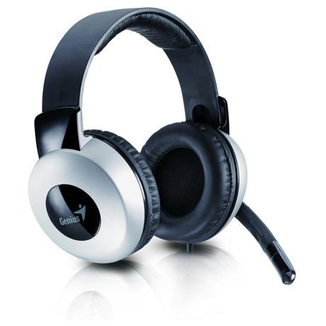 Headset Genius HS-05A - černý/stříbrný - Genius GENHS05A (foto 1)