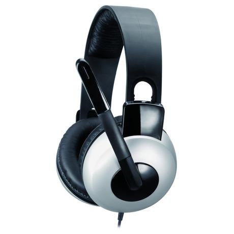 Headset Genius HS-05A - černý/stříbrný - Genius GENHS05A (foto 2)