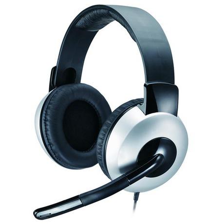 Headset Genius HS-05A - černý/stříbrný - Genius GENHS05A (foto 4)