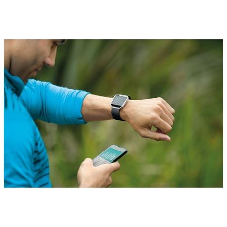 Chytré hodinky Fitbit Blaze large Gunmetal - černá - Fitbit FTTFB502GMBKLEU (foto 1)
