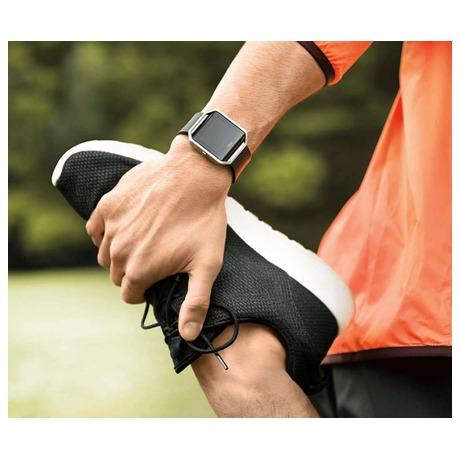 Chytré hodinky Fitbit Blaze large Gunmetal - černá - Fitbit FTTFB502GMBKLEU (foto 2)