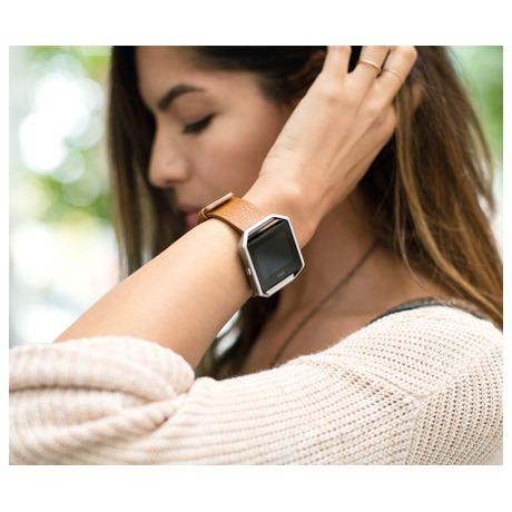 Chytré hodinky Fitbit Blaze large Gunmetal - černá - Fitbit FTTFB502GMBKLEU (foto 3)