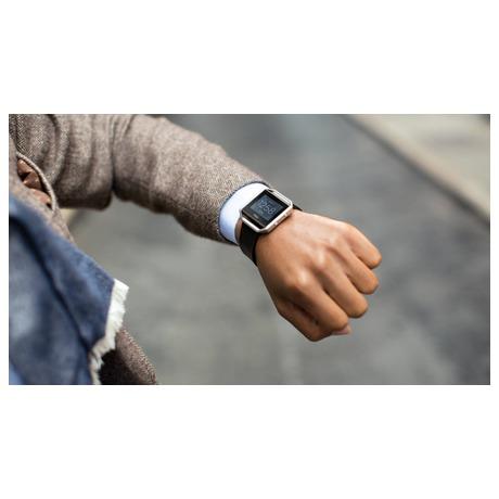 Chytré hodinky Fitbit Blaze large Gunmetal - černá - Fitbit FTTFB502GMBKLEU (foto 4)
