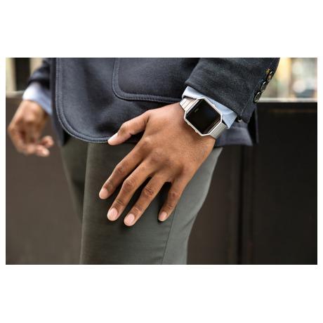 Chytré hodinky Fitbit Blaze large Gunmetal - černá - Fitbit FTTFB502GMBKLEU (foto 7)