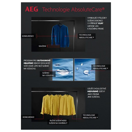 Sušička prádla AEG AbsoluteCare® T8DBE68SC - AEG AEGL7FEC41SCSETOS3 (foto 27)