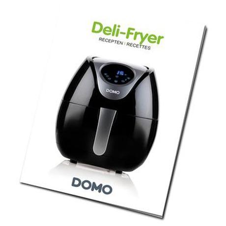 Digitální horkovzdušná fritéza bez tuku -  DOMO DO509FR - Domo DOM-DO509FR (foto 2)