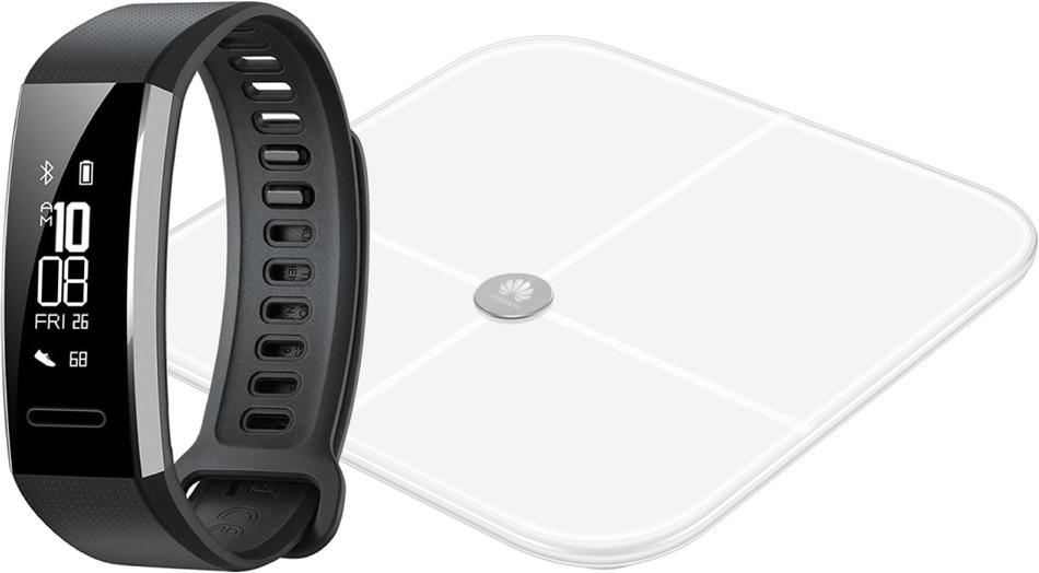 Fitness náramek Huawei Band 2 Pro + AH100 Chytrá váha (AH100 ... db8345d5fdb