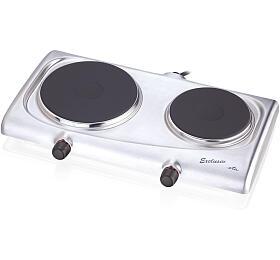 Elektrický vařič ETA 3119 90010 nerez, dvouplotnový - ETA