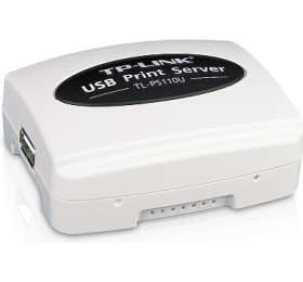 TP-Link TL-PS110U Print Server Single USB 2.0, RJ45 100Mbit - TP-Link