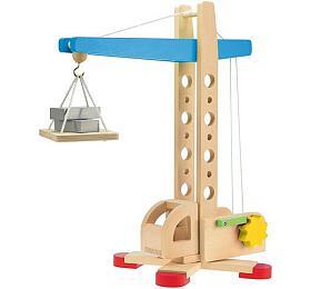 Jeřáb dřevo 40cm v krabici - Teddies
