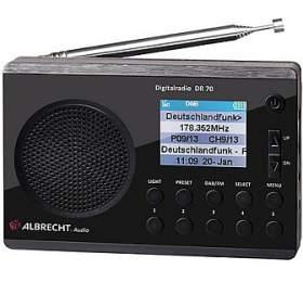 Digitální rádio Albrecht DR 70 - ALBRECHT