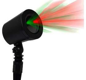 IMMAX venkovní laserový reflektor/ barva zelená-červená/ motivy Star Shower/ IP65, IP44 adaptér (5V/1,5A)/ class 2 (08431L) - IMMAX