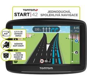TomTom START 42 Europe (45 zemí) LIFETIME mapy (1AA4.002.03) - Tomtom