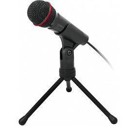 Stolní mikrofon C-TECH MIC-01, 3,5