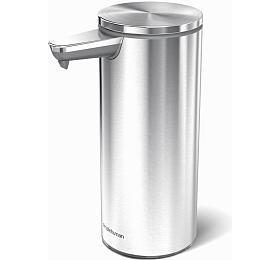 Bezdotykový dávkovač mýdla Simplehuman – 266 ml, kartáčovaná nerez ocel, dobíjecí - Simplehuman
