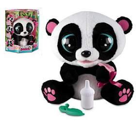 YOYO Panda interaktivní hýbající se 28cm plyš na baterie se zvukem v krabici 40x43cm 18m+ - Teddies
