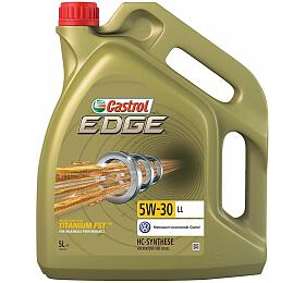 Motorový olej EDGE 5W30 TITANIUM FST LL 5L CASTROL - Castrol
