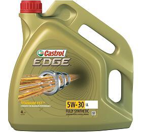 Motorový olej Castrol EDGE 5W30 TITANIUM LL 4L - Castrol