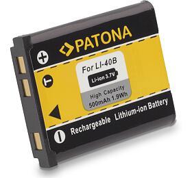 PATONA baterie pro foto Rollei Compactline 800/ Olympus Li-40B/ Li-42B 500mAh (PT1031) - PATONA