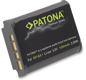 PATONA baterie pro foto Sony NP-BX1 1090mAh Li-Ion Premium (PT1170) - PATONA