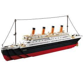 SLUBAN stavebnice Titanic Big, 1018 dílků (kompatibilní s LEGO) (M38-B0577) - SLUBAN