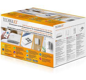 Technaxx bezpečnostní WiFi Smart kit, Základna, PIR snímač, dveřní,okenní kontakt, ovladač (TX-84) (4689) - Technaxx