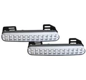 Světla pro denní svícení LED DRL048, homologace TIPA - Tipa