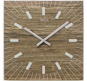 Designové nástěnné hodiny 9578 AMS 35cm - AMS