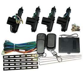 Centrální auto zamykání univerzální T221 (4 dveřové 1+3, dálkový ovladač) Tipa - Tipa