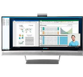 HP EliteDisplay S340c / 34'' 3440x1440 VA wLED / 300cd / 3000:1 / 6,1ms / HDMI, DP, USB3, USB-C / 4x7W repro / 3/3/0 (V4G46AA#ABB) - HP