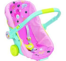 BABY born Přenosná sedačka na kolečkách - Zapf