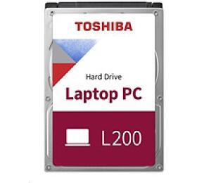 TOSHIBA HDD L200 2TB, SMR, SATA III, 5400 rpm, 128MB cache, 2,5
