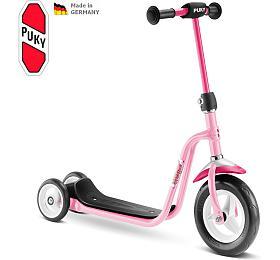 Koloběžka PUKY Scooter R 1, růžová - PUKY
