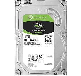 SEAGATE HDD BARRACUDA 4TB SATAIII/600 5400RPM, 256MB cache (ST4000DM004) - Seagate