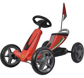 Dětské šlapací auto Buddy Toys BPT 2001 Ferrari Go Kart - Buddy toys