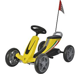 Dětské šlapací auto Buddy Toys BPT 2002 Ferrari Go Kart - Buddy toys