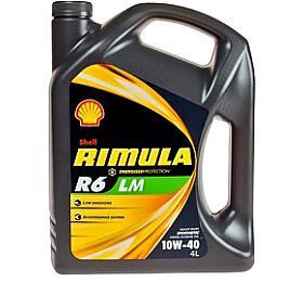Motorový olej Shell Rimula R6 LM 10W-40 4L - Shell